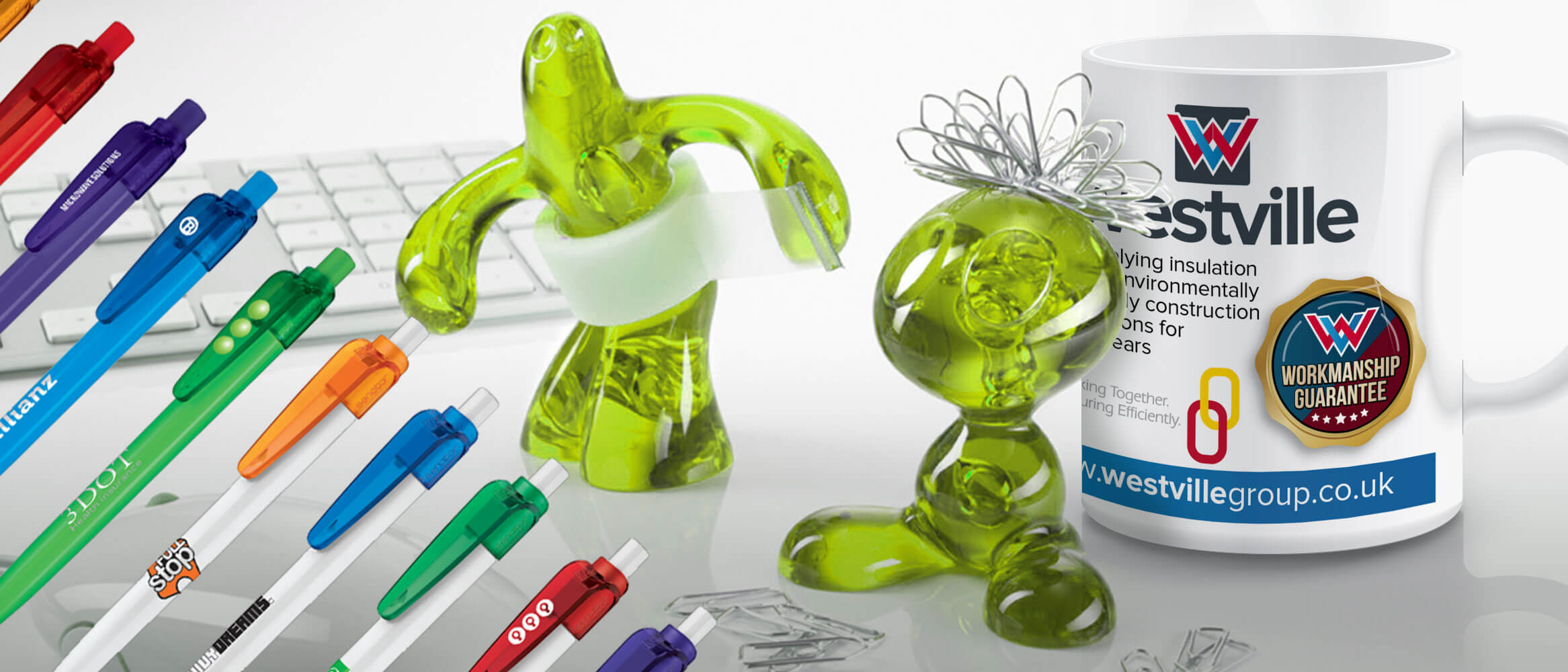 Examples of Various Promotional Merchandise